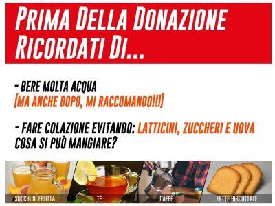 Colazione donatori